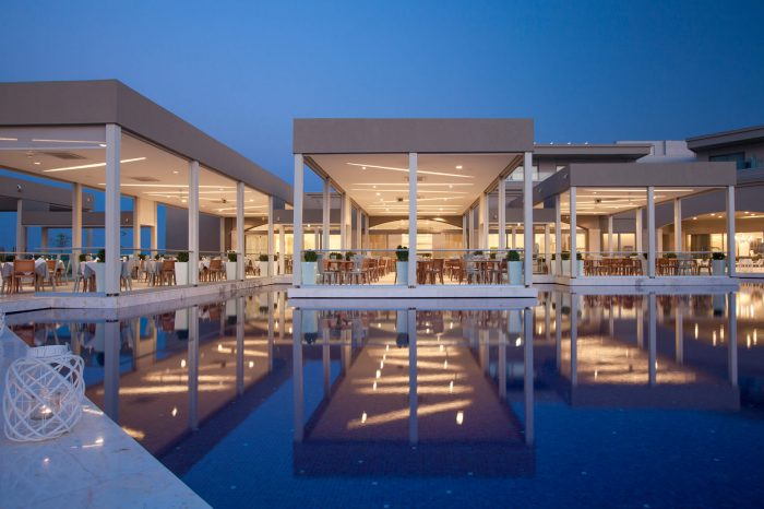 Aegean Main Restaurant Exterior