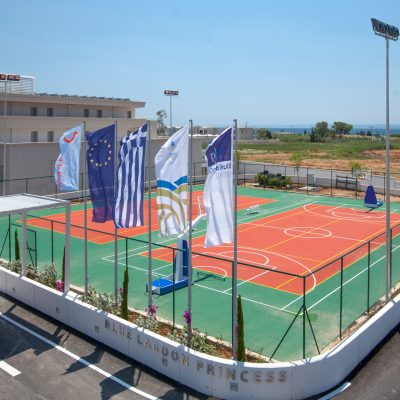 Tennis Court and Basketball Court
